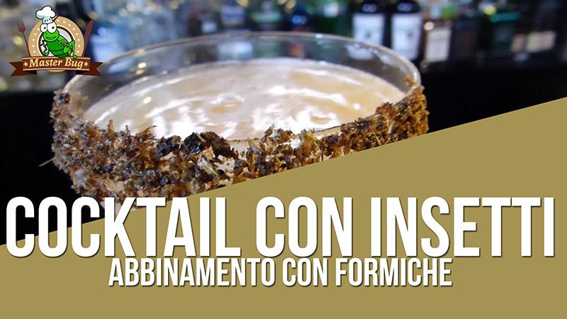 BugDaiquiri: Cocktail con Insetti, abbinamento con Formiche Verdi